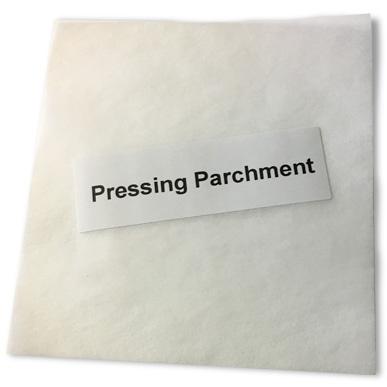 Pressing Parchment Square
